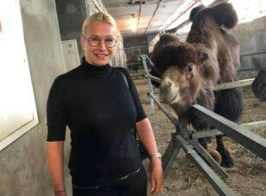 Анну Терешкову из департамента культуры мэрии Новосибирска укусила зебра