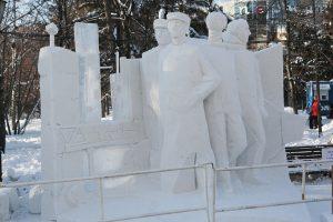 В Новосибирске пройдет фестиваль снежных скульптур