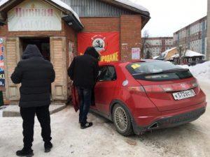 В Бердске Honda Civic влетела в стену, пострадал мальчик