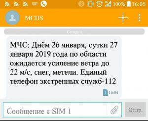 МЧС Новосибирска предупредили о непогоде и сильном ветре