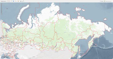 Публичная кадастровая карта России для бесплатного использования гражданами