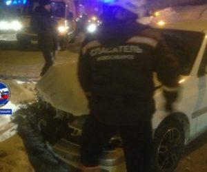 ДТП ВАЗа и «Тойоты» в Новосибирске: пострадала женщина