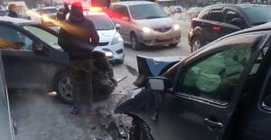 Новосибирск: водитель без прав устроил жесткое ДТП на Фабричной