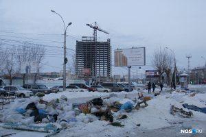 Новосибирск: торговые палатки исчезли с площади Маркса