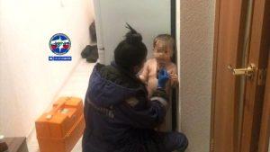 Жительница Новосибирска оставила ребёнка одного в квартире на всю ночь