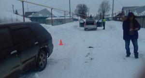 12-летний мальчик попал под машину в Черепановском районе