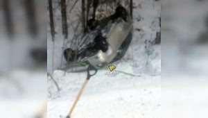 ДТП в Сузунском районе: иномарка легла на крышу