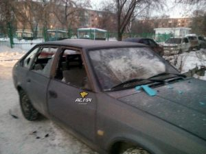 Вандалы ночью разбили 6 автомобилей в Новосибирске