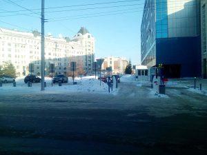 В Новосибирске заработала платная парковка у сквера на Орджоникидзе