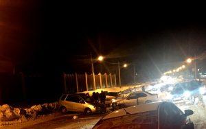 ДТП в Кировском районе: столкнулись два автомобиля, собралась пробка