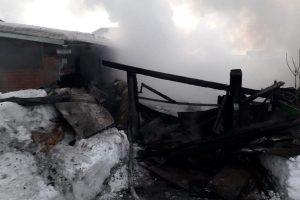 Пожар в Бердске: погибли двое пенсионеров