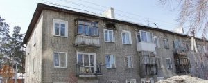 Новосибирск: на одной из улиц начал разрушаться жилой дом