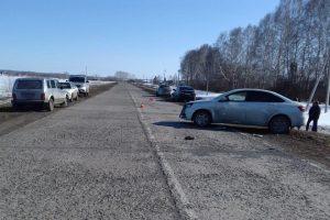 ДТП в Черепановском районе: пострадала 7-летняя девочка