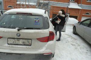 Спасатели МАСС вытащили годовалую девочку из закрытой машины