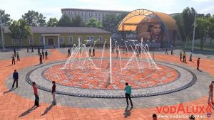 В Новосибирске к сентябрю появится светомузыкальный фонтан