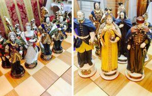 В Новосибирске продают президентские шахматы из фарфора и золота за 350 тысяч