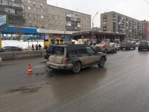 Трое детей в Новосибирске пострадали в ДТП за сутки