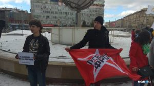 Пикет за свободу интернета прошел в Новосибирске
