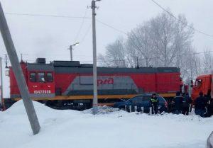 Спешил на работу и врезался в тепловоз водитель в Барабинске
