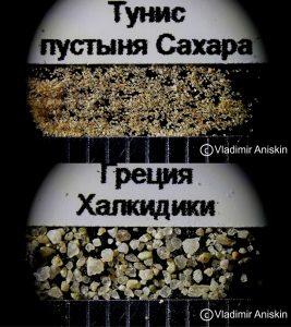 Песок с пляжей мира показал «Сибирский левша»