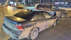 Три человека пострадали в жутком ДТП «Тойоты» и «Ниссана»