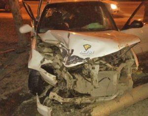ДТП в Новосибирске: пассажир вылетел в окно