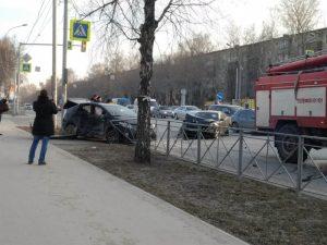 ДТП в Кировском районе: столкнулись две «Тойоты», есть пострадавшие