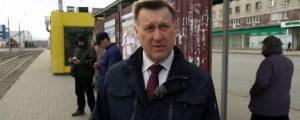 Мэр Локоть доехал на трамвае до «Чистой Слободы» в Новосибирске