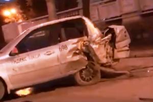 Тройное ДТП в Новосибирске — есть пострадавшие