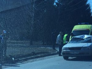 ДТП на Затулинке: водитель сбил мужчину на самокате