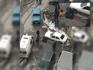 Полиция Новосибирска нашла труп по дворе Октябрьского района