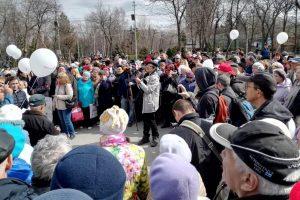 В Новосибирске прошел митинг против застройки парка имени Кирова
