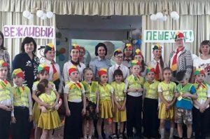 Юными дорожными инспекторами стали детсадовцы Новосибирска