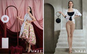 Сибирячка Полина Завьялова попала на страницы двух модных журналов