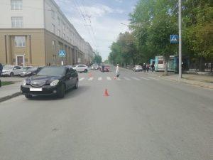 ДТП в Новосибирске: водитель на тонированном авто сбил пешехода