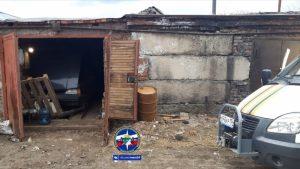 Новосибирец погиб в гараже после ссоры с женой