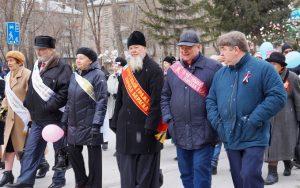 Первомай 2019 в Бердске прошел в снегу и тишине