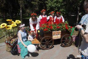 В Новосибирске отмечают День России