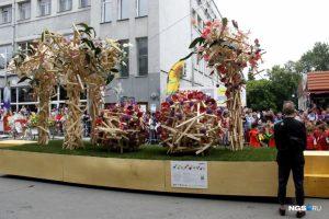 В Новосибирске проходит Фестиваль цветов