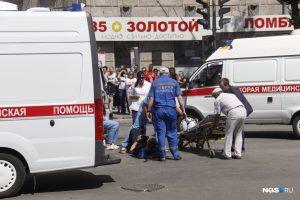 ДТП со «скорой» в Новосибирске - пострадали четверо