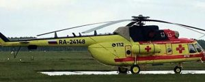 Минздрав Новосибирской области получил первый санитарный вертолет Ми-8