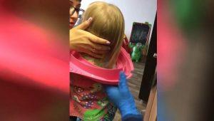 Спасатели МАСС вытащили трёхлетнюю девочку из подставки для унитаза