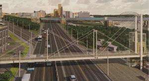 Власти Новосибирска показали проект надземного перехода через Большевистскую