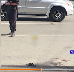 В Новосибирске на улице застрелили мужчину