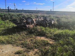 Под Новосибирском водитель погиб в столкновении с поездом