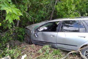 ДТП под Новосибирском: водитель Nissan врезался в дерево и сбежал