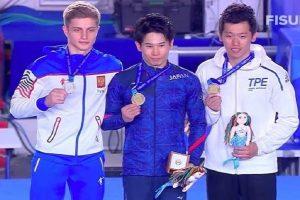"""Новосибирский гимнаст получил """"серебро"""" на Универсиаде в Неаполе"""