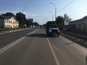 Под Новосибирском мусоровоз насмерть сбил велосипедиста
