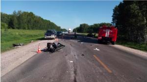 Лобовое ДТП - трое погибли на новосибирской трассе