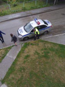 В Новосибирске трамвай сбил женщину на улице Блюхера